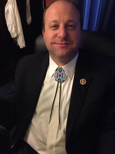 Jared Polis has a good excuse for that bolo tie \u2013 Rita\u0027s Blog